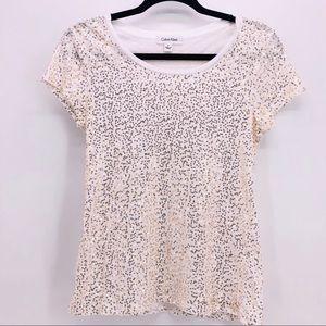 Calvin Klein Women's Tee Shirt (1-00030)